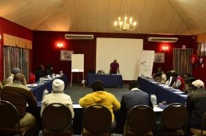 Siya facilitating SEFA