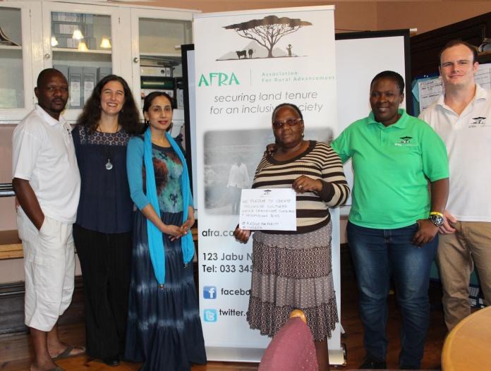 AFRA Team #PledgeForParity 2016