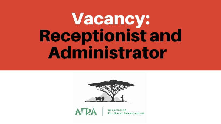 Vacancy_ Receptionist and Administrator